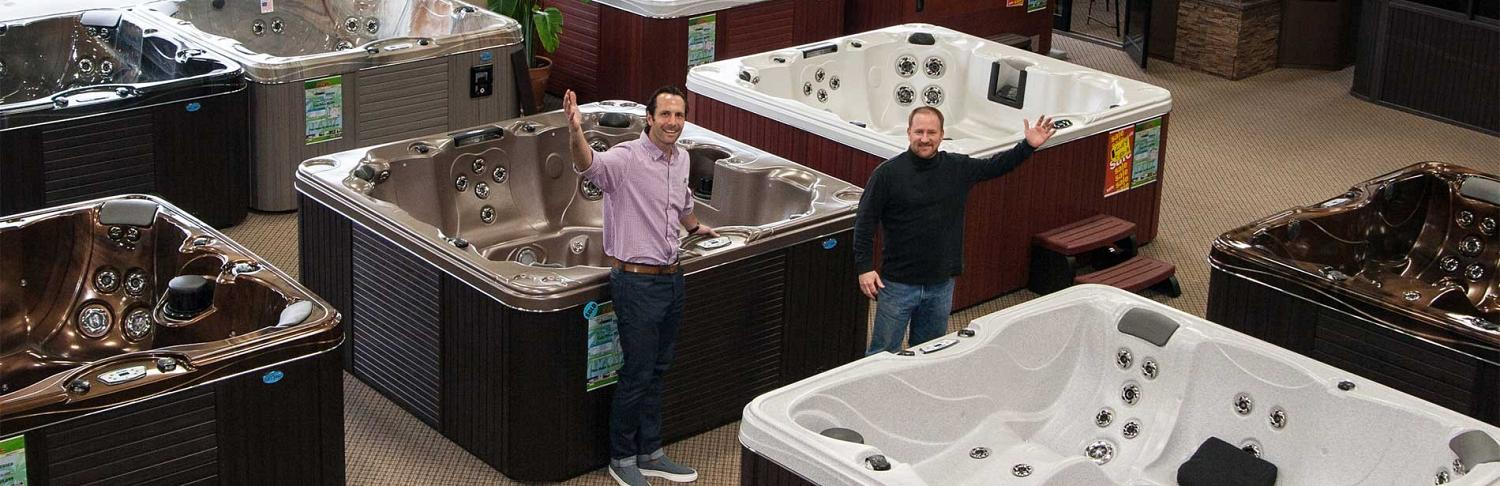Cal Spas of Minnesota Showroom