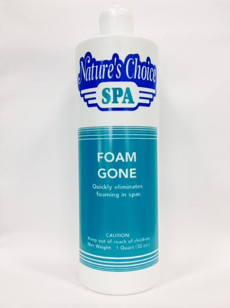 Spa Hot Tub Chemicals - Foam Gone