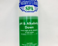 Spa Hot Tub Chemicals - ph Alkalinity Down
