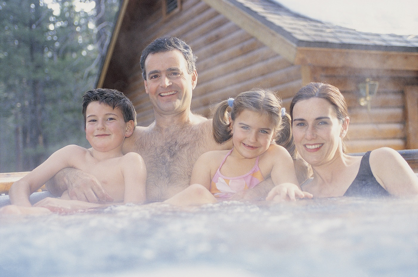 How owning a hot tub can improve your family life